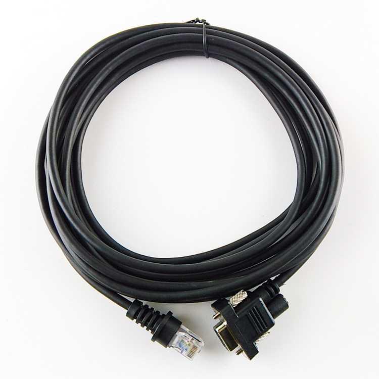 2 uds. Escáner de código de barras Cable RS232, 5M (16.5ft), para Honeywell metrogic MS7120 \ MS5145 \ MS9590 \ MS9540 \ MS9520 \ MS9535 \ MS1690, envío gratuito