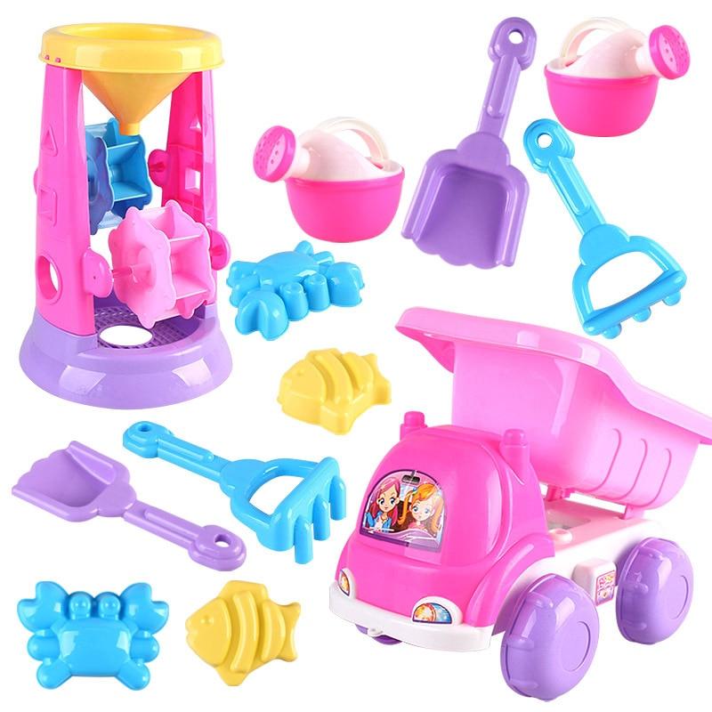 6 pcs/set Baby Summer Water Sand Beach Toys Educational Sandbox Toy for Kids Children Bo ...