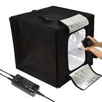 GODOX фото студия светодиодный мини Фотография light box палатка для дверей ЛСД 40/60/80 LST 40/60/80 с 2/3 светодиодный осветительные панели фон для фотосъе