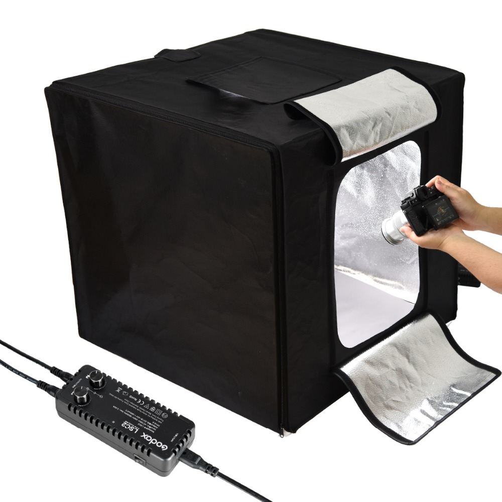 Painstaking Godox Photo Studio Led Mini Photography Light Box Tent Lsd-40/60/80 Lst-40/60/80 With 2/3 Led Light Bars Photography Background With The Best Service