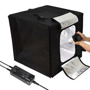 Image 2 - Đèn Flash Godox Studio Ảnh Đèn LED Chụp Ảnh Mini Hộp Đựng Đèn Lều LSD 40/60/80 LST 40/60/ 80 Với 2/3 Đèn Led Thanh Nền Chụp Ảnh