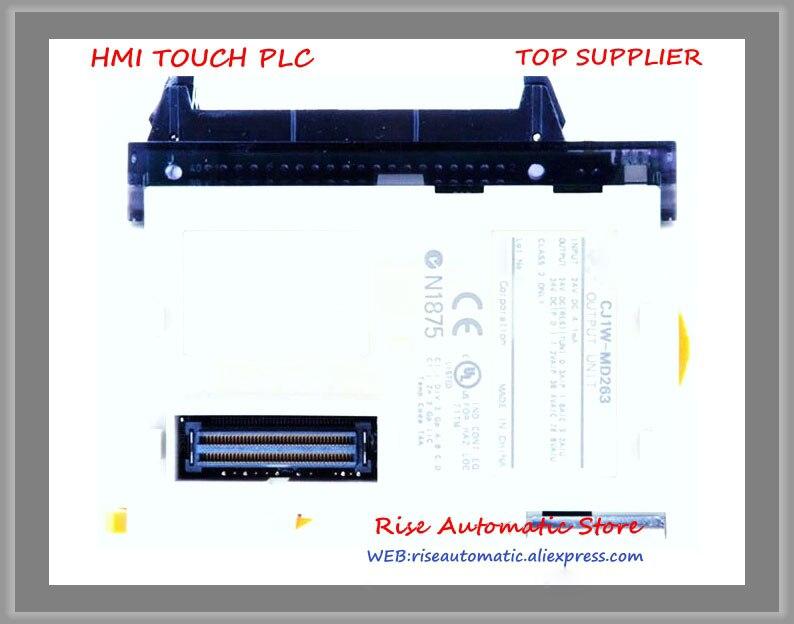 CJ1W-MD263 PLC I/O 32 point 12-24VDC New OriginalCJ1W-MD263 PLC I/O 32 point 12-24VDC New Original