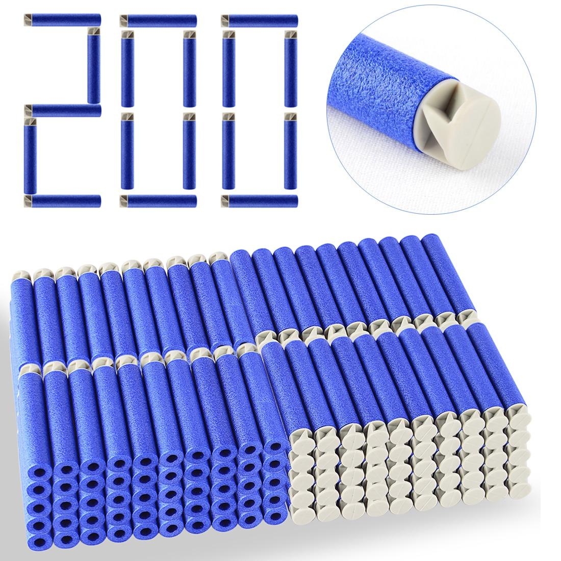 200 stücke 13 Farben Weiche Kugel Flache Weiche Kopf Schaumkugeln - Outdoor-Spaß und Sport