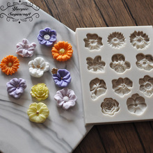 1 piece Flower silicone mold