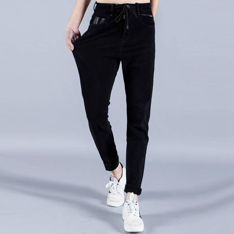 #1424 Spring Korean Mens stretch denim jeans Skinny Black Elastic Designer jeans Casual Pantalon slim homme Brand Jeans stretch