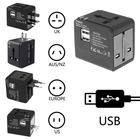 Alloyseed New Universal Travel Power Adapter Electric Plugs Converter World USB Travel Socket Plug Power Charger Converter
