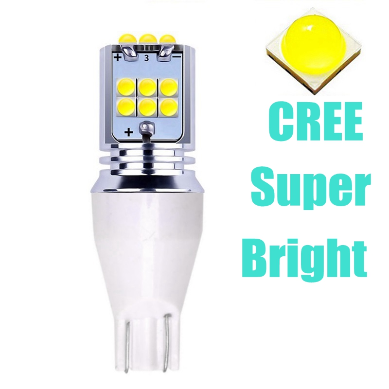 1 шт., автомобильная светодиодная лампа T15 921 W16W WY16W лм