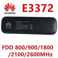 Déverrouiller Huawei e3372 e3372h-153 4G LTE Dongle Bâton carte de Données Modems USB Bâton 4g dongle huawei 4g Modem pk e3272 e8372