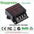 Преобразователь постоянного тока 12 В в 5 в 10 А 24 В в 5 В 10 А 15 А, регулятор, автомобильный понижающий редуктор, Daygreen, сертифицированный CE, от 12 В/...