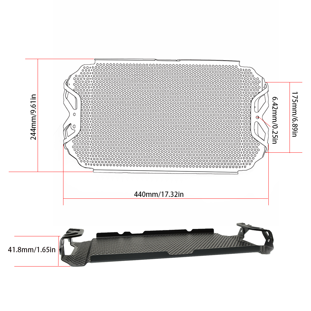For Yamaha FZ 09 MT 09 FZ09 MT09 2013 2014 2015 2016 alloy Motorcycle Accessories radiator grille guard protection in Covers Ornamental Mouldings from Automobiles Motorcycles