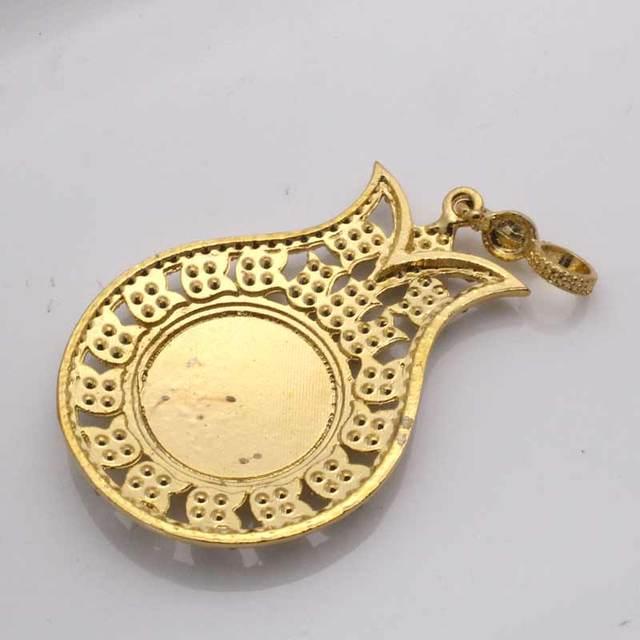 Купить ожерелье zkd с кулоном в виде мусульманской тюрбаны для женщин
