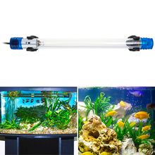 Senzeal Aquarium LED Lighting UV Sterilizer 220V 110V 7W 11W 254nm Ultraviolet Light Submersible Lamp Fish Tank