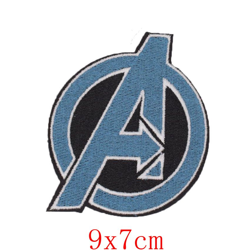 1Pcs New Arrival Captain Avengers EMBROIDERED PATCH Cartoon Character Comic Uniform TV Movie Film applique sew on iron on patch in Patches from Home Garden