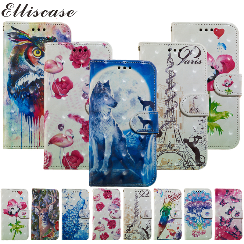 For Samsung Galaxy J3 2016 Case Flip Leather Phone Case For Samsung Galaxy J3 2016 Wallet