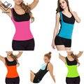 Wechery Modeling Strap Waist Trainer Corsets for Sweat Vest Neoprene Top Body Shaper Slimming Belly Sheath Shapewear Plus Size