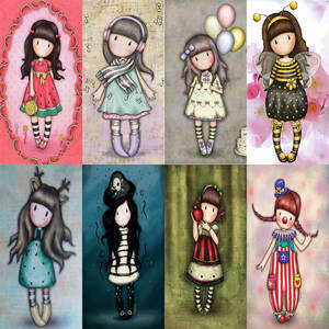 little doll girl dies 2019 new cutting dies DIY paper lovely doll die for scrapbooking and card making cut dies