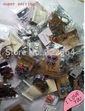 ¡Envío gratis! Nueva llegada, pendientes de moda coreana 500 Uds un lote mixto de bolsa, 500 par/lote