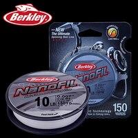 Original Berkley Brand NanoFil 150yd 137m Fishing Line Clear Mist Uni Filament Fishing Line Zero Memory