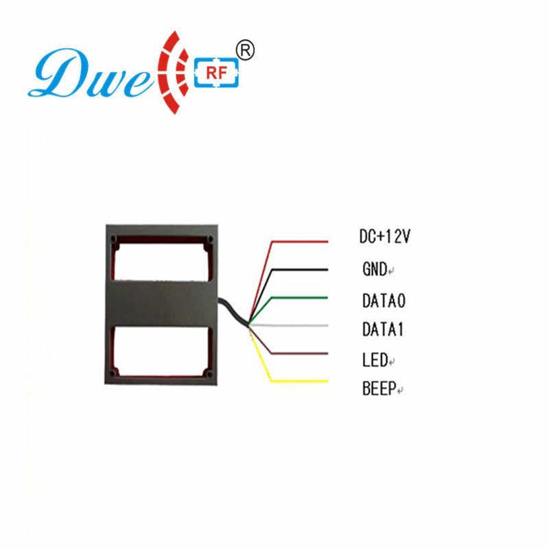 1M 3 28ft Middle Reading Distance Range WG 26 bit 125KHz EM ID RFID  Reader/access control long range reader tarjeta antenna
