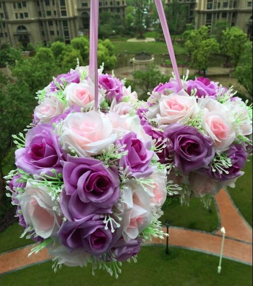 6 15cmwedding kissing balls silk flower balls decorative hanging 6 15cmwedding kissing balls silk flower balls decorative hanging flower ball centerpieces mightylinksfo Choice Image