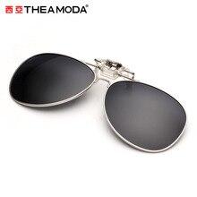 THEAMODA 2016 Brand clip on Polarized Sunglasses men women Aviation clear Fashion Polarized Glasses For Fishing Driver TMAP-0009