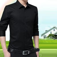 Социальные Chemise Homme для Hemden Herren Para Ropa De Hombre Camisa мужские весенние Hiver зимние обтягивающие Повседневное Корейская рубашка с длинными рукавами