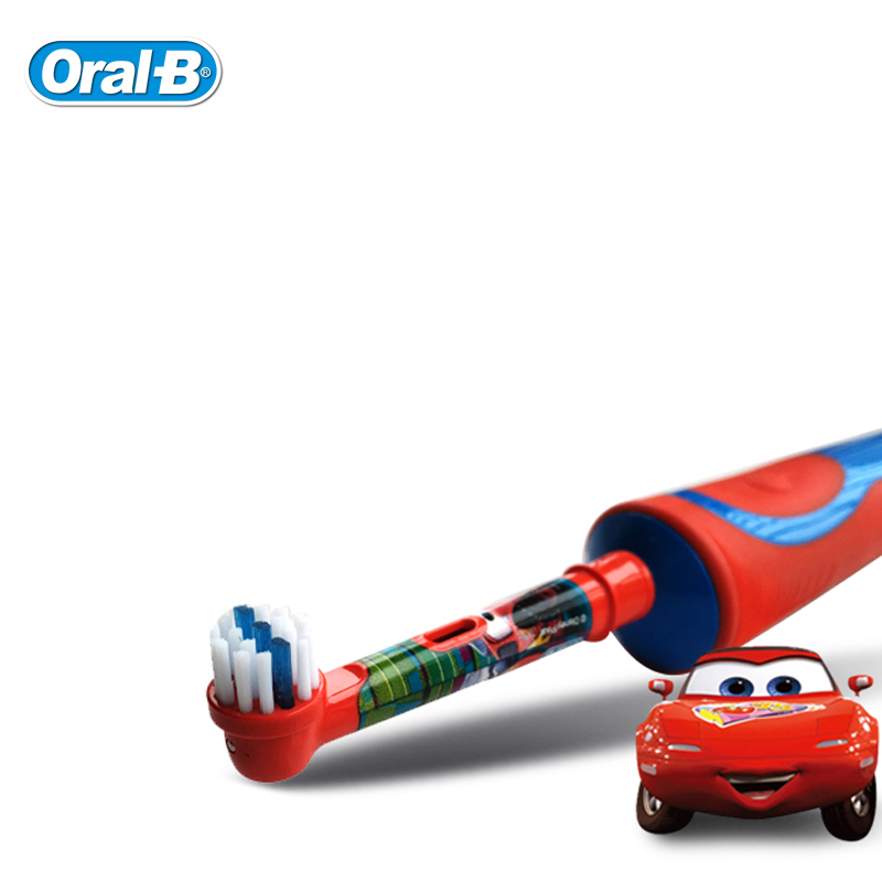 Kids Electric Tooth Brush Children Toothbrushes Heads Oral B Waterproof  Safety Rechargeable Rotating Teeth Oral Care Ages 3+
