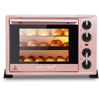 Multi Function Electric Oven 36L Up Down Independent Temperature Control Pizza Cake Bread Baking Machine 3 Layer Ovens Toaster