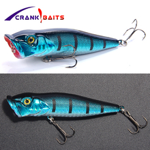 цена CRANK BAITS Japan Design Brand Fishing Lure 90mm 13g Floating Pencil Lure Topwater Popper Lure Peche Isca Artificial Bait YB20 онлайн в 2017 году
