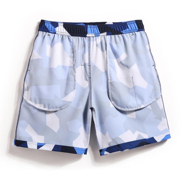 Gailang Brand Men Beach Shorts Boxer Trunks Board Shorts Casual Bermuda Men's Swimwear Swimsuits 2018 New Fashion Quick Drying