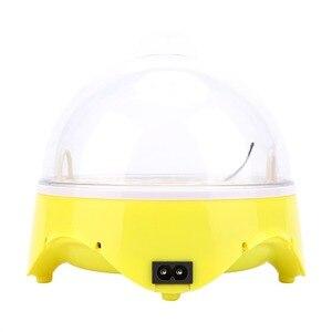 Image 2 - Mini 7 jaj automatyczne inkubatory jaj elektroniczny cyfrowy inkubator toczenie regulacja temperatury dla kurcząt kaczki gęsi przepiórki