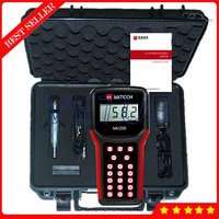 MU200 Non destructive ultrasonic hardness tester meter gauge with HB HRC HV Durometer measuring device