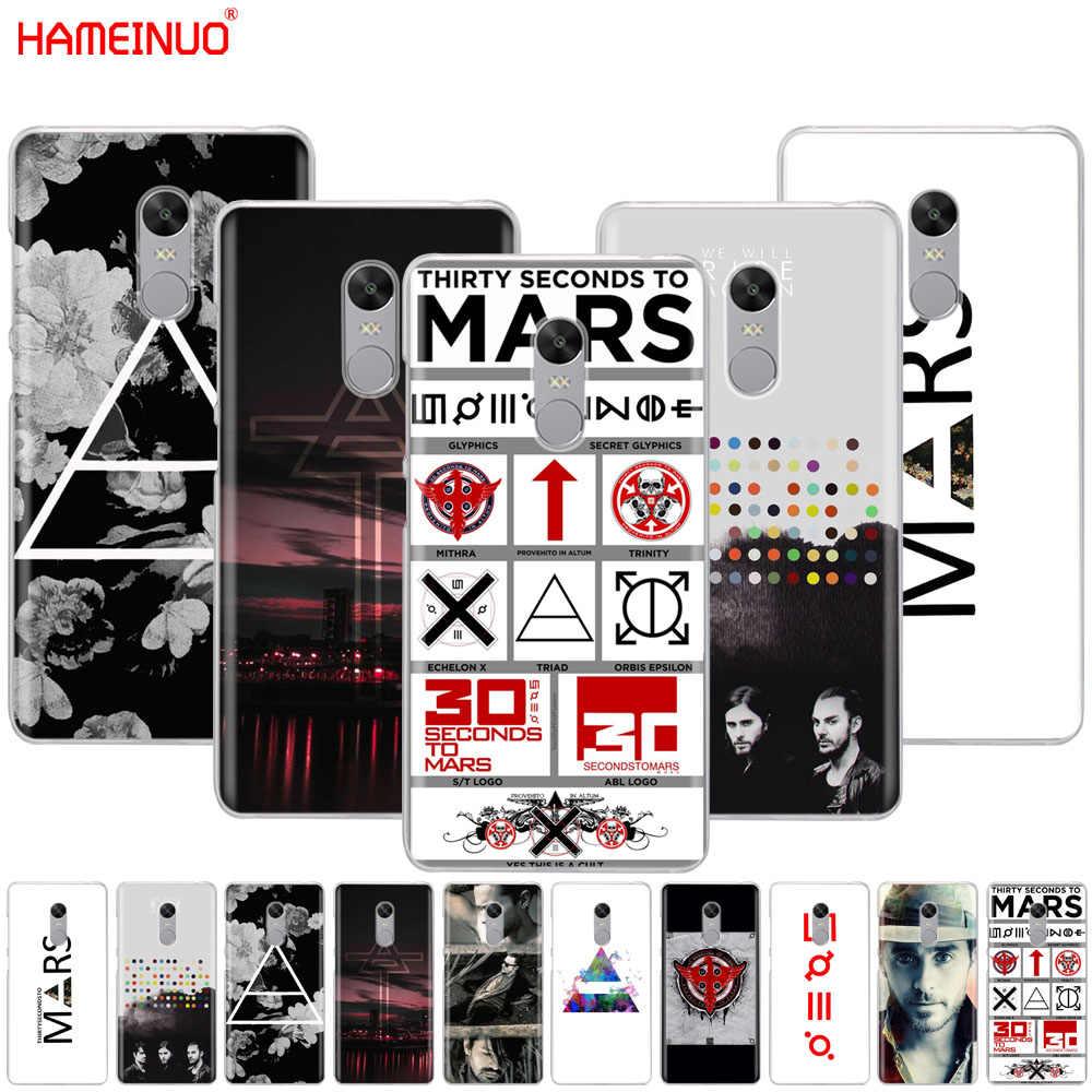 Hameinuo 30 ثانية إلى المريخ غطاء حالة الهاتف ل xiaomi redmi 5 4 1 1 ثانية 2 3 3 ثانية الموالية زائد redmi ملاحظة 4 4x 4a 5a