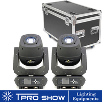 230W LED Moving Head Beam Spot Zoom 3in1 Lighting Dmx Stage Lights Gobo Prism Effect Lyre Head In Road Case for Dj Disco Wedding