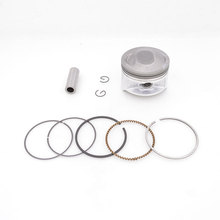 2088 Motorcycle 66 mm Piston 16 mm Pin Ring Set Kit Assembly For Qingqi Suzuki QM200GY GS200 GTX200 GS199 200cc Spare Parts