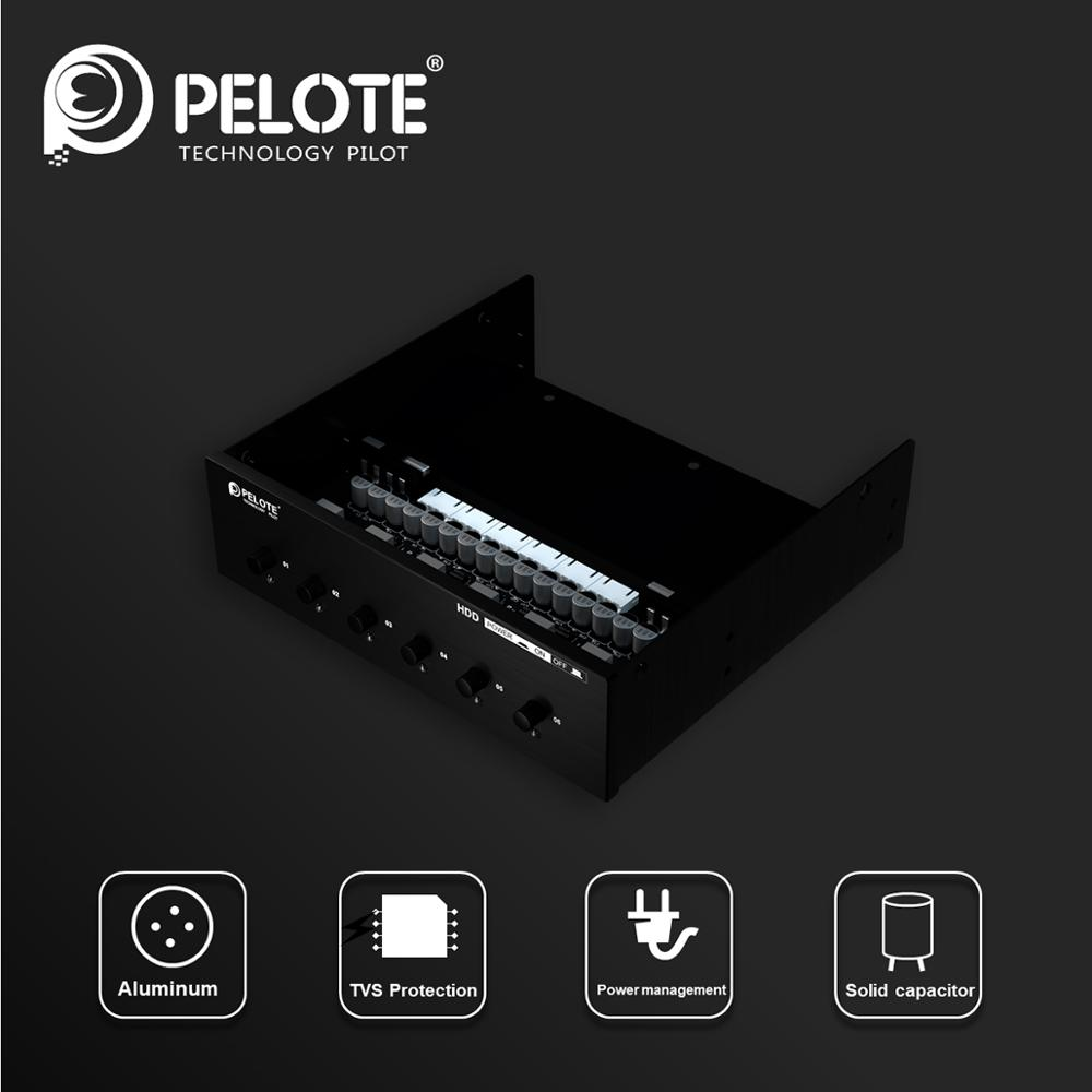 PELOTE HD PW6101 Hard Drive selector sata drive switcher HDD Power Switch Control For Desktop PC