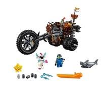 LEPIN 45011 Movie MetalBeard's Heavy Metal Motor Trike Model Building Block 852pcs Bricks Toys Gift Compatible With Legoings