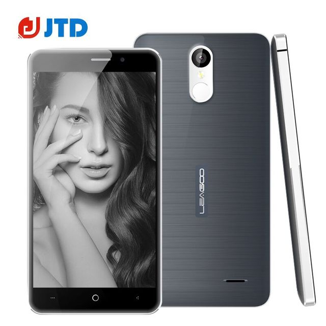 Original Leagoo M5 Plus Smartphone MT6737 Quad Core Android 6.0 5.5'' 2GB+16GB Dual SIM Fingerprint 4G Phones