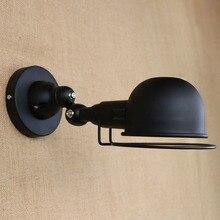 Vintage E14 Jielde Mini Adjustable Led Wall Lamps Industrial Mechanical Arm Reminisce Retractable Loft Edison Wall