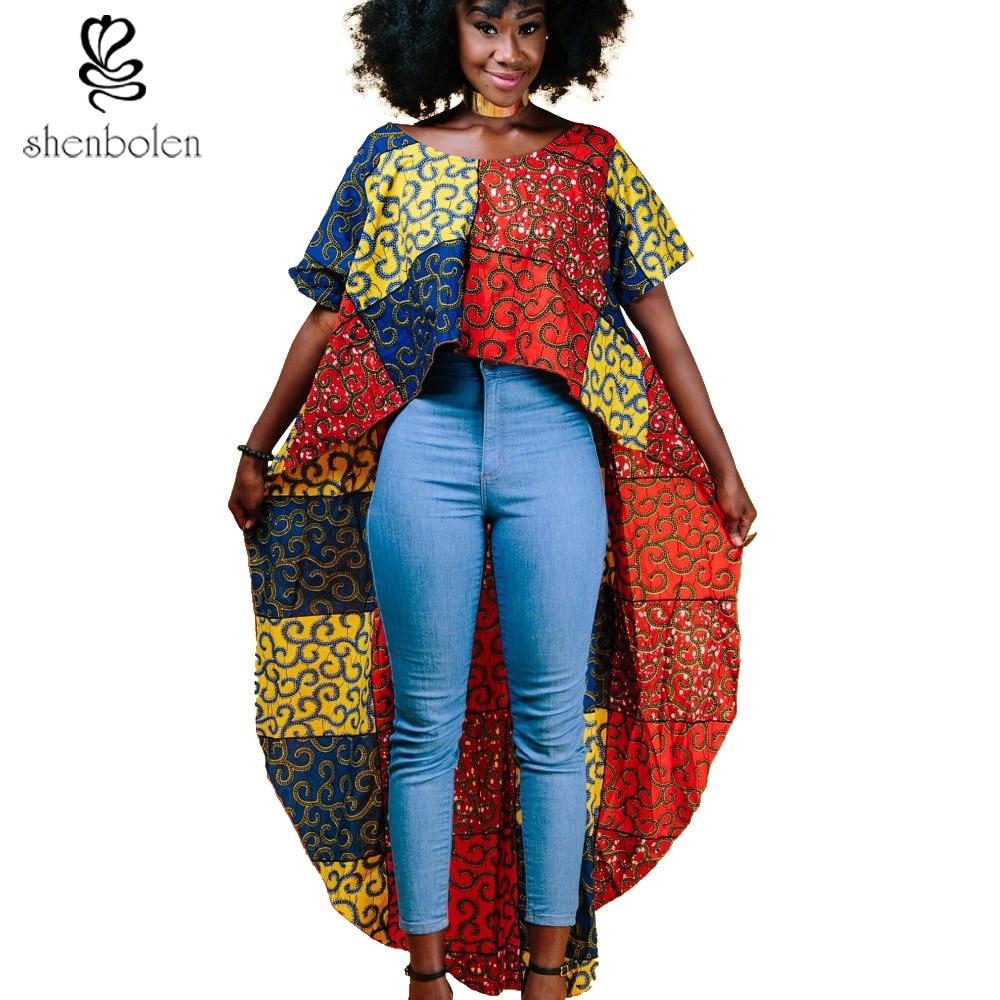 2017 Summer Autumn African Clothes For Women Batik Wax
