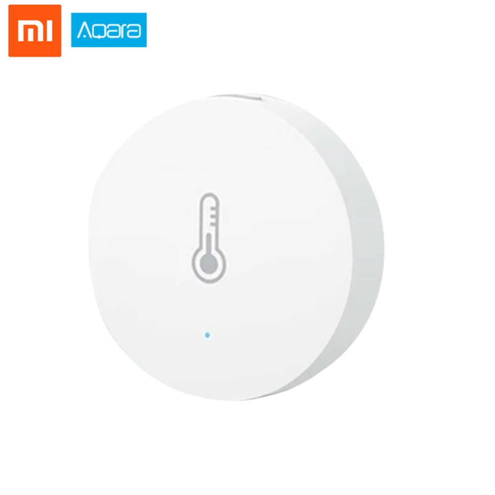 Aqara Smart Temperature Humidity Sensor ZigBee Wifi Wireless Work With Xiaomi Smart Home Mijia Mi Home App датчик xiaomi mi smart home temperature humidity sensor
