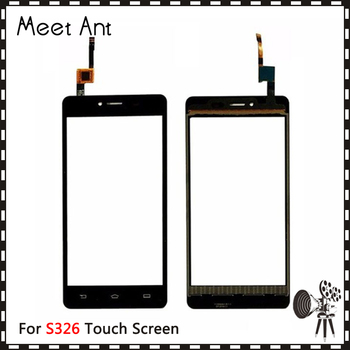 "10Pcs/lot High Quality 5.0"" For Philips S326 Touch Screen Digitizer Sensor Outer Glass Lens Panel"