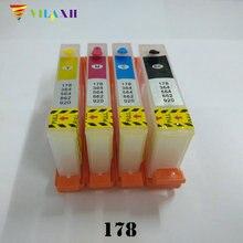 For HP 178 Refillable Ink Cartridge For HP178 Photosmart 7515 B109a B109n B110a Plus B209a B210a Deskjet 3070A 3520 Printer цена в Москве и Питере