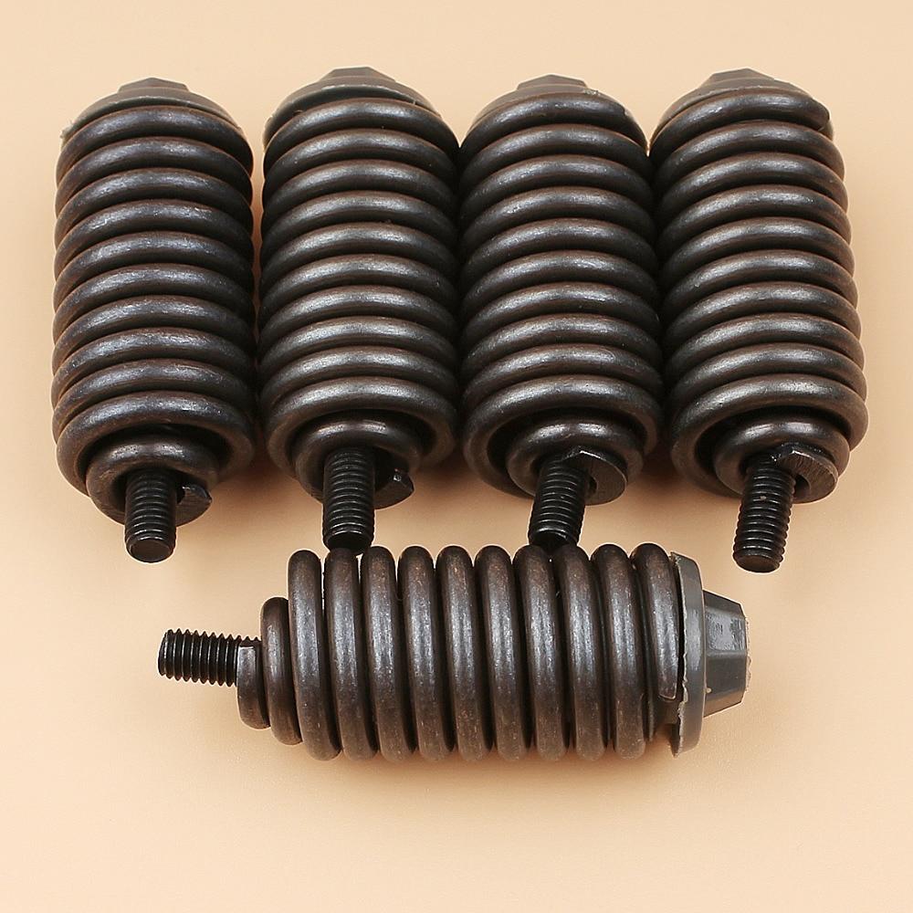 5Pcs/lot Handlebar Buffer Spring Mount Kit For Husqvarna 362 365 371 372 372XP Jonsered 2063 2065 2071 2163 2171 Chainsaw Parts