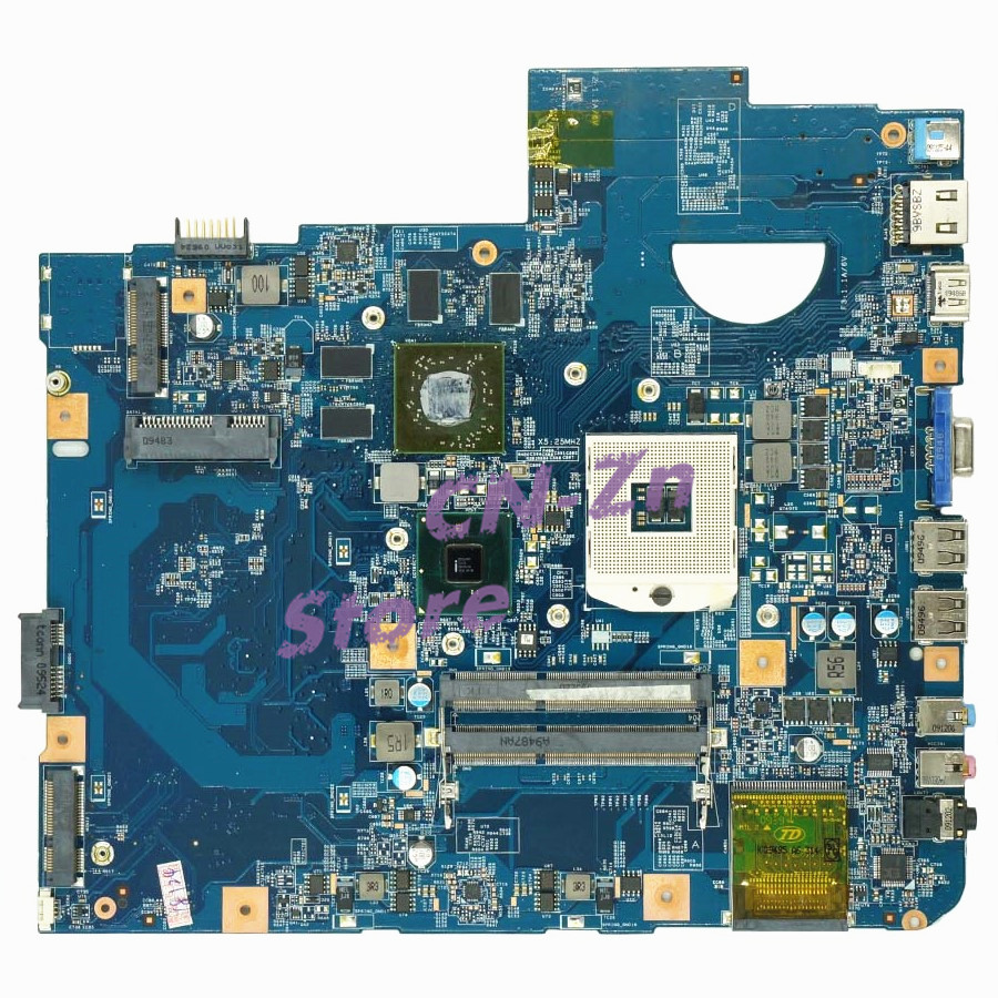 SHELI FOR Acer Aspire 5740 Laptop Motherboard MBPM701001 48.4GD01.01M HM55 DDR3 HD5650 GPU product testing 100% perfect work image