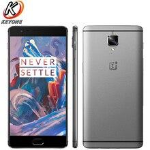 Оригинальный Новый Oneplus 3 A3000 4G LTE мобильный телефон 5,5 «6 ГБ Оперативная память 6 4G B Встроенная память четырёхъядерный Snapdragon 820 функция распознавания отпечатка пальца на базе Android 6,0 телефон