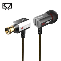 KZ ED9 Super Bass Earphone In Ear Heavy Bass High End HiFi Earbuds With Microphone Transparent
