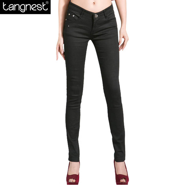 TANGNES Slim Pencil Trousers 2017 New Women Pants Female Casual Candy Colored All-match Fit Pants Women Capris WKP004