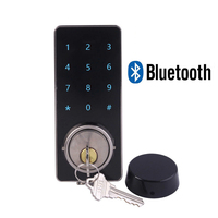 Smart Bluetooth Door Lock Mobile phone APP Control Electronic Lock Touch Screen Password Locks For Hotel and Apartment office