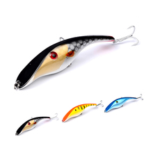 JOSHNESE Artificial Lures Fishing Lure Crankbait Hard Bait Pencil Lure Fishing Tackle Floating Accessories Fishing Bait 3 Color
